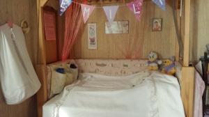 Sommerfugl-sengeteppe