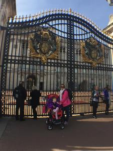 Utenfor Buckingham Palace